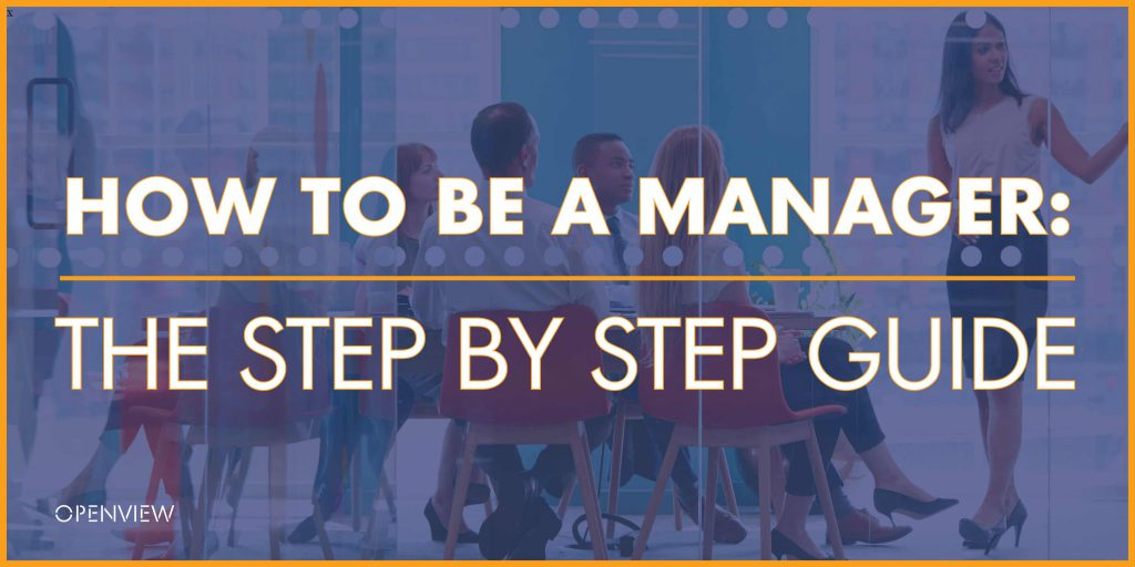 How to be a Manager CTA