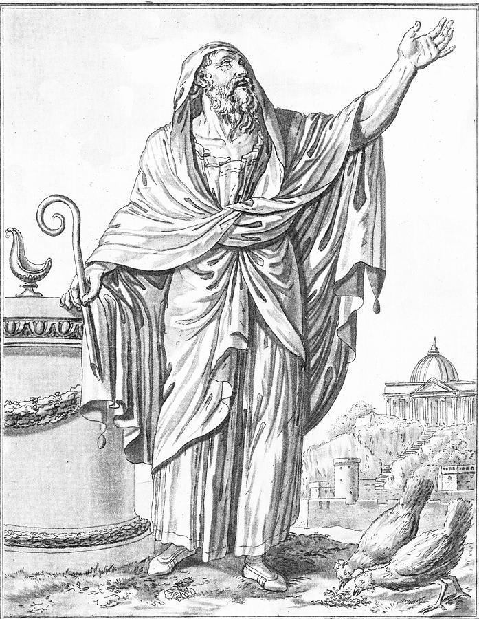 An Augur of Ancient Rome