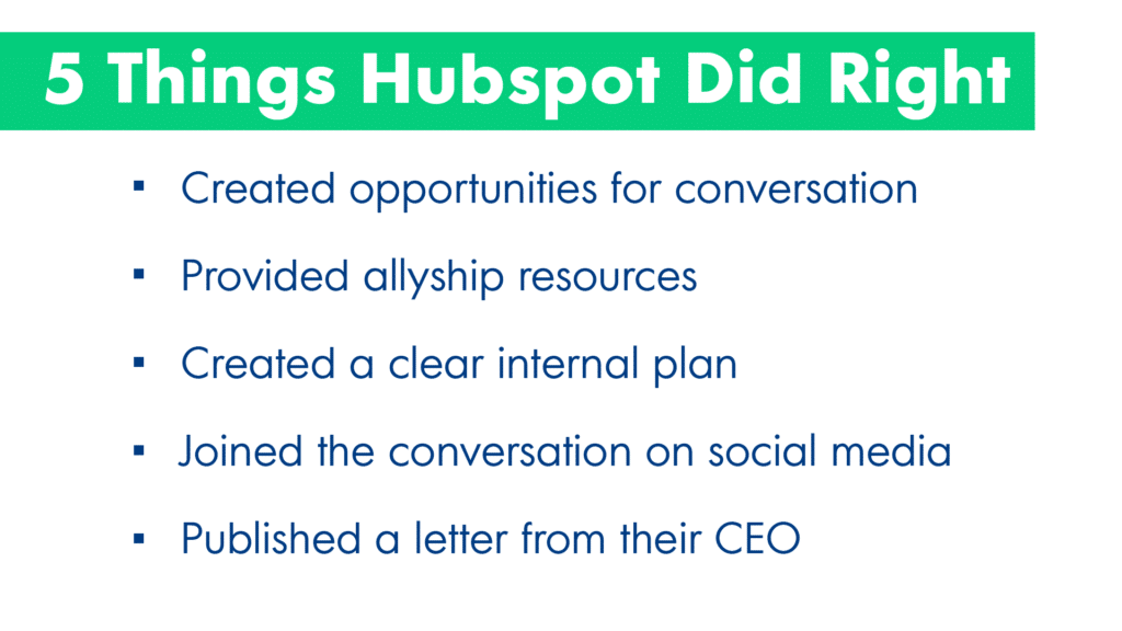 5 things HubSpot did right