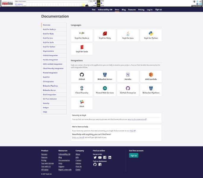 Wayback Machine screenshot