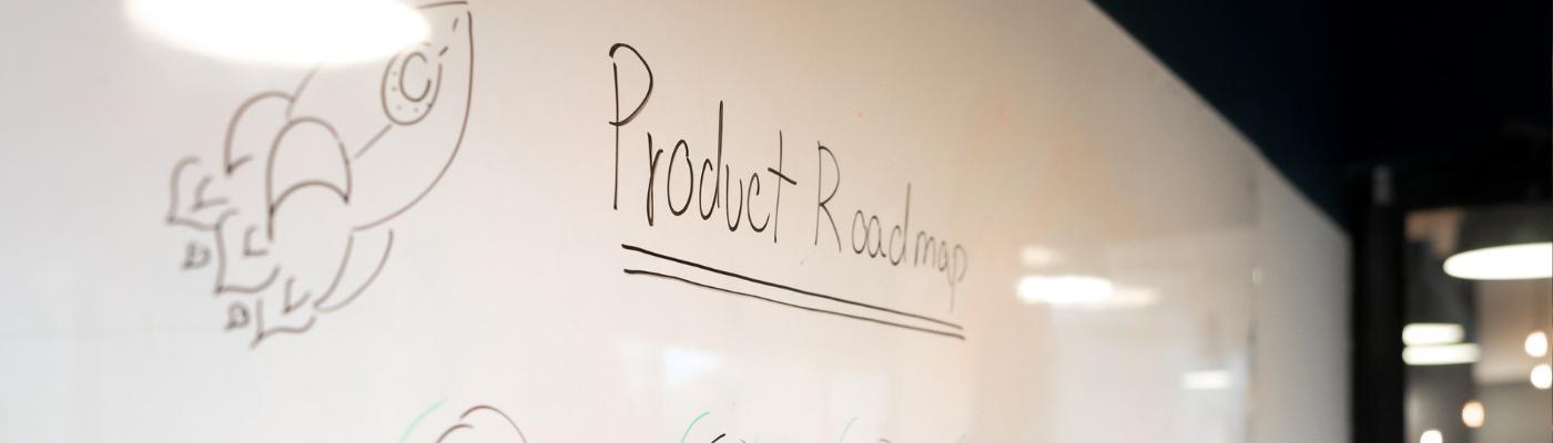 Product Roadmap Whiteboard