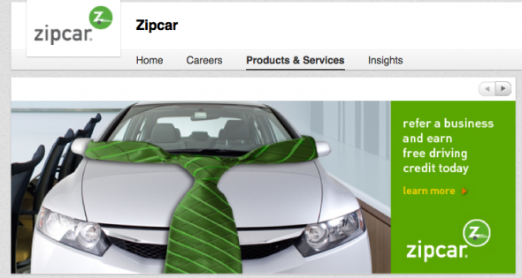Best LinkedIn Company Pages: ZipCar