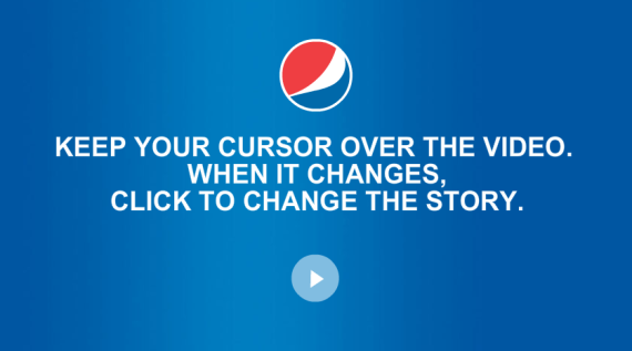 Pepsi Interactive World Cup Video