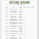intern hiring work plan-interactive